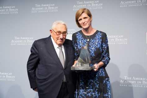 Annette Hornischer / American Academy in Berlin / Kissinger Priz