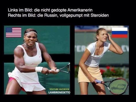 American vs Russian tennis players