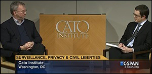 craig-timberg-washington-post-reporter-interviews-googles-eric-schmidt-at-the-cato-institute